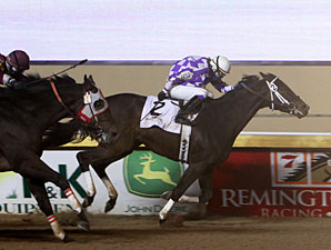 Evansville Storm wins the 2011 Jim Thorpe Stakes.