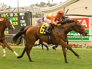 Evening Jewel wins the 2010 San Clemente