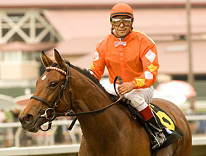 Evening Jewel wins the 2010 San Clemente.