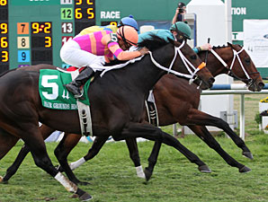 Expansion wins the 2011 Fair Grounds Handicap.