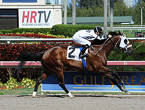Fast Anna - Maiden Win, April 12, 2014.