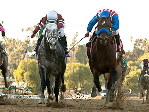 Fed Biz wins the 2013 San Fernando.