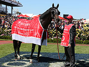 Fiorente wins the Melbourne Cup in Australia.