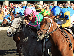 Five Star Fun, Allowance win, Keeneland, Oct 16, 2011.