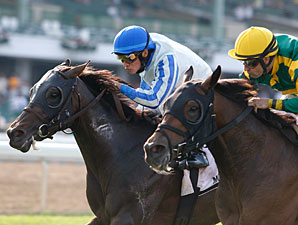 Flamin' Hot wins the 2010 Anderson Fowler Stakes via dq.