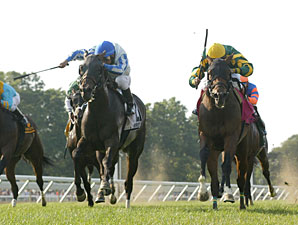 Flamin' Hot wins the 2010 Anderson Fowler Stakes.