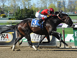 Flat Out wins the Westchester Stakes.