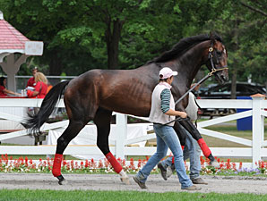 Fort Larned - Saratoga, July 26, 2013.