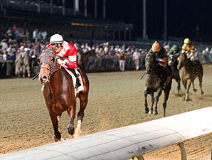 Fort Larned wins the 2013 Stephen Foster.