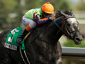 Frac Daddy winning the Eclipse Stakes.