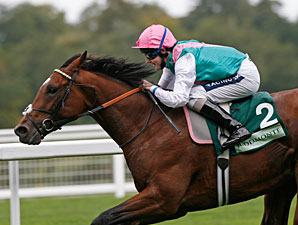 Frankel wins the 2010 Royal Lodge.