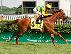 Free Fighter wins the 2010 Louisville Handicap.