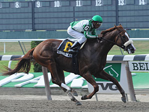 Friend Or Foe wins the 2010 Mike Lee Stakes.