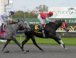 Future Prospect wins the 2011 WinStar Kentucky Cup.