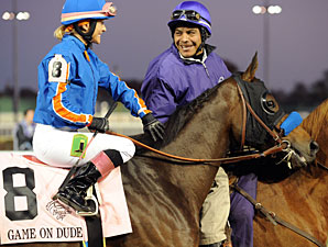Game On Dude in the Breeders' Cup Classic.