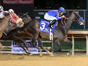 Game On Dude wins the 2013 Charles Town Classic.