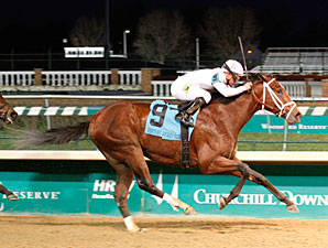 Gemologist wins the 2011 Kentucky Jockey Club.