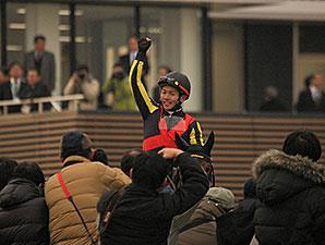 Gentildonna wins the 2014 Arima Kinen (Grand Prix).
