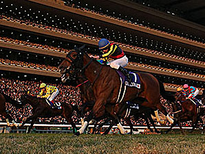 Gentildonna wins the Japan Cup.