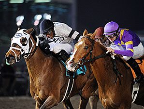 Ghost Is Clear wins the 2015 Sam Houston Sprint Cup Stakes.