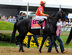 Govenor Charlie Post Parade Preakness Stakes.