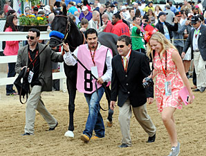 Govenor Charlie Walkover Preakness Stakes.