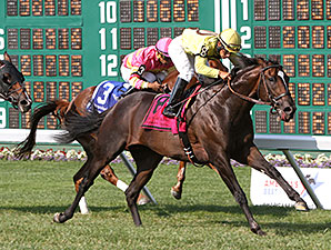 Guys Reward wins the Oceanport Stakes 7/27/2014.
