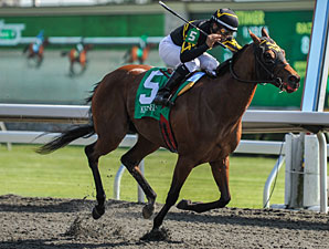Gypsy Robbin wins the Beaumont Stakes.