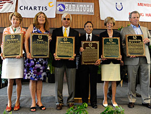 Hall of Fame Ceremony Honors the Greats