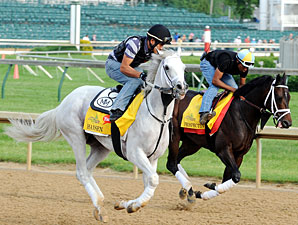 Hansen & Prospective Churchill Downs, May 3, 2012.