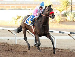 Happy Humor wins the 2009 KLAQ Handicap.