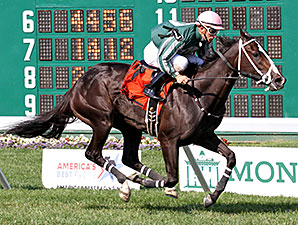 Harlan's Honor wins the Colleen Stakes.
