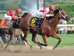 Havre de Grace wins the 2011 Woodward.