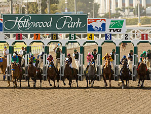 Hollywood Park Attendance Up, Handle Declines