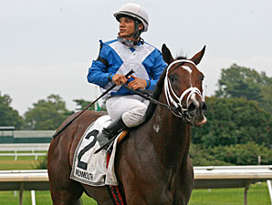 Hunt Crossing wins the 2011 Monmouth Park NATC - Colts.