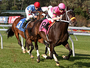I Love It wins a maiden race on Oct. 16, 2010.