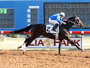 I Stand Alone wins the Rio Rancho Overnight Stakes.