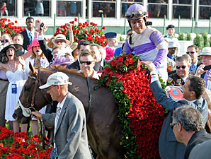 I'll Have Another and Dennis O'Neill at Kentucky Derby 138.