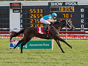 I'm Already Sexy wins the 2013 Pucker Up Stakes.