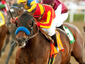 Indian Firewater wins the 2010 San Fernando.
