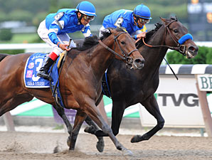 Indian Blessing wins the 2009 Gallant Bloom.