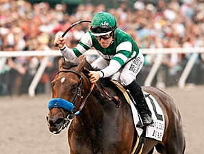 Iotapa wins the 2014 Clement L. Hirsch Stakes.