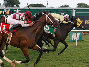 Ju Jitsu Jax wins the 2011 My Frenchman Stakes.