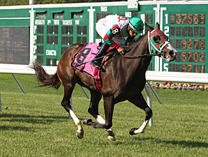 Ju Ju Eyeballs wins the 2013 Crank It Up Stakes.