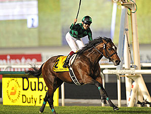 Just a Way wins the 2014 Dubai Duty Free.