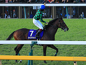 Just a Way wins the Tenno Sho in Japan.