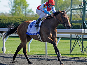 Karlovy Vary wins the 2012 Ashland Stakes.