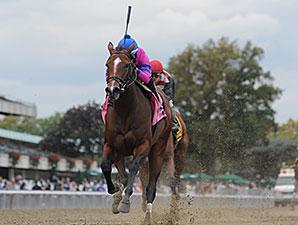 La Verdad wins the 2014 Iroquois Stakes.