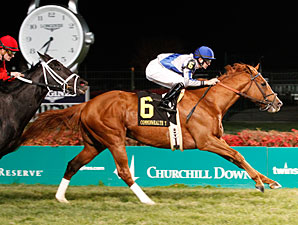 Lea wins the 2012 Commonwealth Turf.