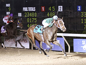 Lee's Spirit wins the 2012 Gold Cup Stakes.
